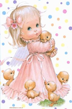 Angel Images, Angel Pictures, Illustration Mignonne, Cute Illustration, Sarah Kay, Cute Little Girls, Cute Kids, Cute Images, Cute Pictures