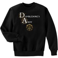 harry potter clothing for women | ... Dumbledore's Army New Recruit Harry Potter Fan Art Crewneck Sweatshirt