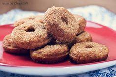 Mini Vegan Gluten-Free Donuts...now I just need a mini donut maker...