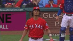 mlb baseball disappointed texas rangers alds damnit game 2 bummed yu darvish darvish i fucked up i messed up tough break #humor #hilarious #funny #lol #rofl #lmao #memes #cute