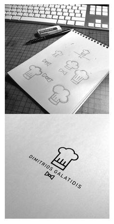 Logo process for executive chef.