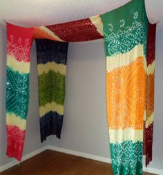 Bohemian Bed Canopy/Tent by BabylonSisters on Etsy