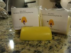 Bees wax soap and lotion