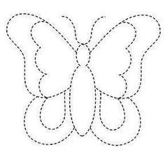 New Ideas Embroidery Butterfly Felt Easy Drawings For Kids, Drawing For Kids, Preschool Worksheets, Preschool Activities, Butterfly Felt, String Art Patterns, Butterfly Template, Spring Activities, Applique Patterns