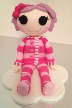 Loopsy Doll Cake Topper edible fondant by NicolePeglerCakeArt, $45.00