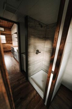 Tile Shower - Noah by Wind River Tiny Homes