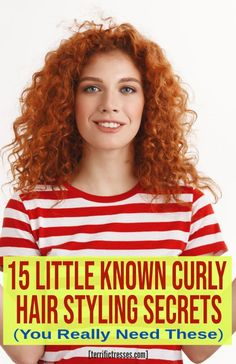 Everyone with curly hair looking for some tips, tricks, and ideas. Grab 15 ingenious ideas for styling curly hair to help you look both hot and frizz free. Thin Curly Hair, Curly Hair Tips, Curly Hair Styles, Wavy Hair Problems, Voluminous Curls, Curly Hair Tutorial, Hair Secrets, Perfect Curls, Hair Looks