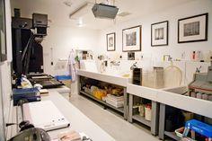 Hiroshi Watanabe's darkroom