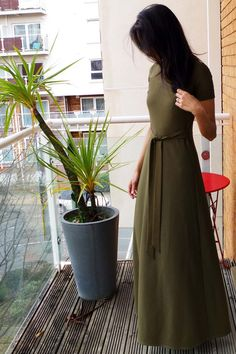 Marbella Dress sewing pattern from Blank Slate Patterns sewn by ym.sews