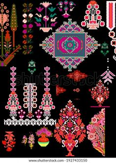 Stencil Patterns, Textile Design, Pattern Design, Stencils, Royalty Free Stock Photos, Textiles, Quilts, Abstract, Create