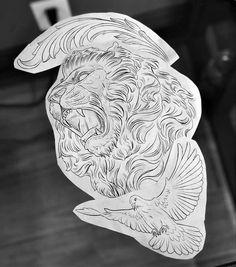 Lion Tattoo Design, Tattoo Design Drawings, Tattoo Sketches, Best Sleeve Tattoos, Tattoo Sleeve Designs, Tattoo Designs Men, Hai Tattoos, Body Art Tattoos, Future Tattoos