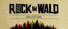 """Rock im Wald Festival 2012 - """"Rock is coming home"""" - zum ROCK IM WALD Festival 2012. Seit 1995 bringen die Veranstalter aus Oberfranken Bands aus den Genres Rock, Punk und Metal auf die Bühne des Waldstadions, u.a. Größen wie Smoke Blow, Volbeat, Bloodlights, Backyard Babies, Orange Goblin und Blackmail. Auch in diesem Jahr wird an diese Tradition angeknüpft und unter dem Motto """"Scandinavian Rock"""" ein herausragendes Line Up geboten."""