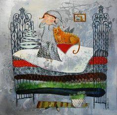 Illustrazione di Anna Silivonchik