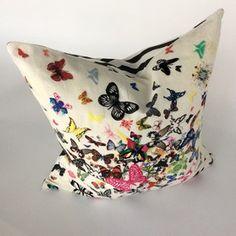 Butterflies Pillow @Glass House - Salt Lake City County, UT