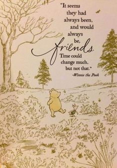 "[ ""Winnie the Pooh Friendship Quote.pretty much explains us Bestie"", ""Winnie the Pooh Friendship Quote. I have my own Pooh as my friend and Quotes Funny Sarcastic, Flirting Quotes, Winnie The Pooh Quotes, Winnie The Pooh Friends, Tao Of Pooh Quotes, Pooh Winnie, Winnie The Pooh Classic, Best Friendship Quotes, Friend Friendship"