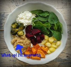 Amaranth Buddha Bowl- Shaw's Simple Swaps Amaranth Shaw Simple Swaps