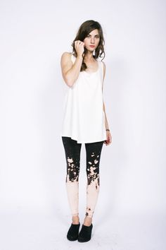 Galaxy Splatter Leggings by Mary Meyer