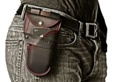 Urban Holster :An iPhone /Android,Wallet, Notebook, pen case by Constantine Barzacanos — Kickstarter.  An all-in-one leather holster for your iPhone / Android phone w/ wallets for moleskin notebook, pencil /pen, credit cards, maps, etc .