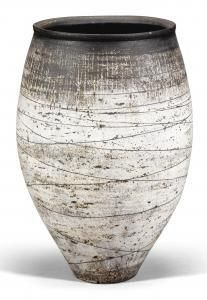 Hans Coper - An Early And Large Barrel-shaped Vase Form
