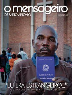 Capa Revista O Mensageiro de Santo Antônio Julho/Agosto de 2014