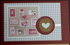 Hochzeitskarte aus hochwertigem Kartenpapier mit dekorativen Elementen aus Schleifenband, Stanzteiln, Kork und 3D Tape. Die Karte wurde in Handarbeit gefertigt.
