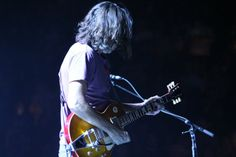 Stone Gossard …that hair.. | Pearl Jam | Baltimore 2013