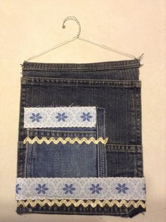 Floral Locker Pocket by BeccasjamsandCrafts on Etsy
