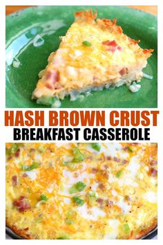 Hash brown Crust Bre