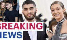 Gigi Hadid And Zayn, 20 Weeks Pregnant, Trending Today, Vogue Covers, American Music Awards, Black Turtleneck, Girls Show, Zayn Malik, Covergirl