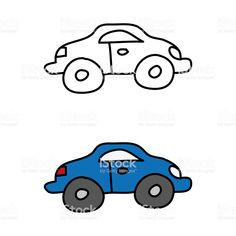 cartoon drawing of a car Free Cars, Free Vector Art, Photo Illustration, Cartoon Drawings, Image Collection, My Works, Textbook, Royalty, Cartoons