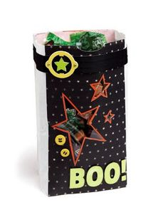 A link to Halloween papercrafting and home decor ideas from #CTMH!
