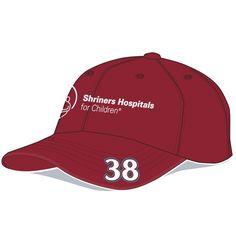David Ragan Shriners Hospitals Adjustable Hat - Maroon