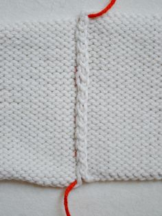 Mattress Stitch | The Purl Bee