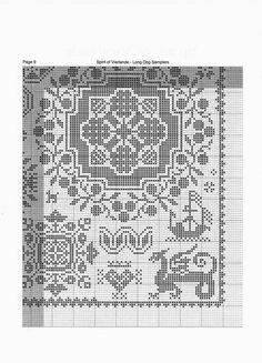 Gallery.ru / Фото #104 - 2 - unito Cross Stitch Sampler Patterns, Cross Stitch Borders, Cross Stitch Samplers, Cross Stitch Designs, Cross Stitching, Blackwork Embroidery, Diy Embroidery, Modern Embroidery, Cross Stitch Embroidery