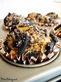 Mike's Baking: Muffin Monday: Oreo Muffins