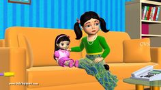 Miss Molly had a dolly - 3D Animation Nursery rhyme for children  ( Miss...