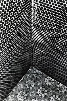 "Tiles of Aizuwakamatsu"" by Daido Moriyama, 1987"
