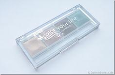 """Alte Schätze – p2 color your life eyeshadow palette """"morning dew"""" http://schminkwiese.de/2013/03/28/alte-schtze-p2-color-your-life-eyeshadow-palette-morning-dew/"""