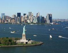 Het Vrijheidsbeeld in New York