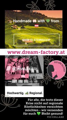 Wir versenden für euch, damit ihr trotz allem Zuhause bestens versorgt seid 💚 Halten wir zusammen!  www.dream-factory.at  #onlineregional #steirisch #zusammenhalten #stayhome #zuhausebleiben #quarantäne #schützdich #gegencorona