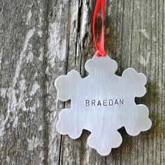 """Would make a great """"baby's first"""" Christmas ornament"""