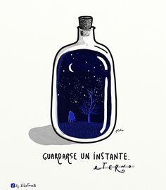 """Aldo Tonelli / Ilustraciones: """"Botella"""" - Ilustración"""