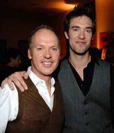 When Michael Keaton won a Golden Globe for his performance in Birdman, he got choked up talking about his son, music producer and songwriter Sean Douglas, 31. Douglas' mother is Keaton's ex-wife Caroline McWilliams.
