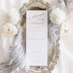 Introduce the style of your wedding — not to mention your wedding party! — with a ceremony program. Unique Wedding Programs, Wedding Ceremony Programs, Perfect Wedding, Place Card Holders, Wedding Dresses, Party, Style, Bridal Dresses, Fiesta Party