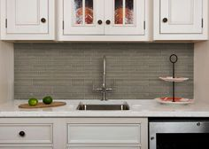 back splash, cabinets, counter - Welcome to Artistic Tile