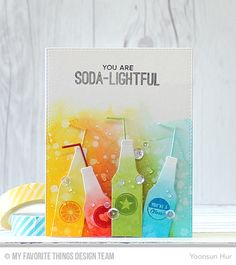 SODA-LIGHTFUL by Yoonsun at @studio_calico