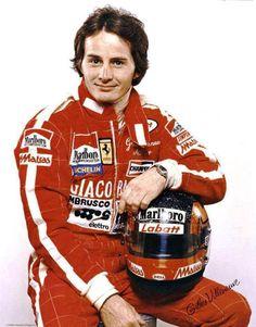 Joseph  Gilles  Henri  Villeneuve (1950 à 1982) Franco-Canadense - Correu 68 GPs de (1977 a 1982) 02 Equipes + 06 Wins + 02 Poles - Foio Pai do Campeão Jacques Villeneuve