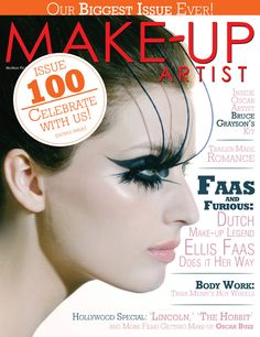 Make-Up Artist Magazine, Issue No. 100 February / March 2013 Two Covers!
