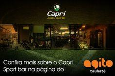 Venha pra Capri assistir todos os JOGOS DO BRASIL, nosso Sport Bar é aberto para todos!