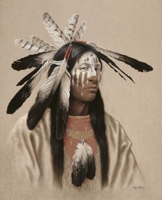 Native American Art Prints. Kirby Sattler. Mini paper prints. - NATIVE AMERICAN ART PRINTS
